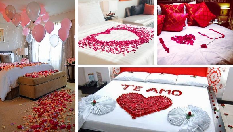 20 Ρομαντικές DIY ιδέες για να διακοσμήσετε την κρεβατοκάμαρα σας με ροδοπέταλα για την ημέρα του Αγίου Βαλεντίνου