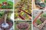 Καταπληκτικές DIY ιδέες διακόσμησης κήπου με κεραμίδια