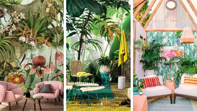25 Ονειρικές τροπικές ιδέες διακόσμησης για μια καλοκαιρινή αύρα στο σπίτι σας όλες τις εποχές