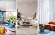 Μοντέρνοι καισυναρπαστικοί καναπέδες με καμπύλες για να κάνετε μια trendy διακοσμητική δήλωση
