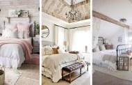 25 Πανέμορφες ιδέες χωριάτικης διακόσμησης για την κρεβατοκάμαρα σας