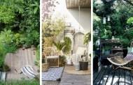Αστικός τρόπος ζωής: 20 Σούπερ ιδέες ζούγκλο-διακόσμησης για το αίθριο ή την βεράντα σας