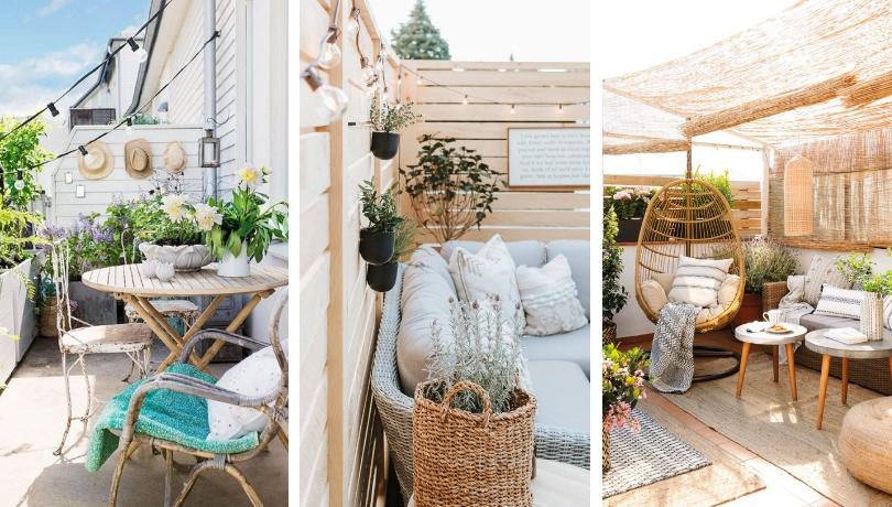 Βεράντα στην πόλη: 15 εκπληκτικά απλές ιδέες για να απολαύσετε τις ηλιόλουστες μέρες