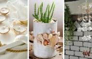Καλοκαιρινή DIY διακόσμηση με κοχύλια - φέρτε μια αίσθηση διακοπών σπίτι σας