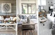 32 ρουστίκ ιδέες καθιστικού για να διαμορφώσετε ένα υπέροχο και άνετο χώρο
