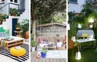 Πανέμορφες ιδέες μας για έναν χαρούμενο και άνετο κήπο