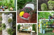20 Απίθανες DIY διακοσμήσεις που θα πάνε τον κήπο σας σε άλλο επίπεδο