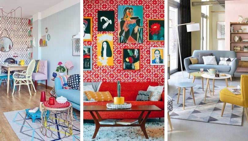 Ρετρό διακόσμηση: 50+ απίθανες Ιδέες για να διακοσμήσετε το σαλόνι και την τραπεζαρία σας