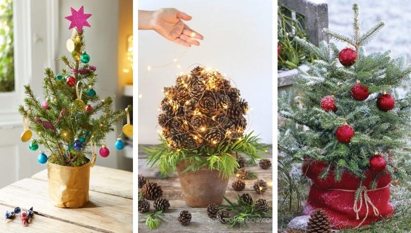Τα μικροσκοπικά Χριστουγεννιάτικα δέντρα επέστρεψαν και είναι μόδα