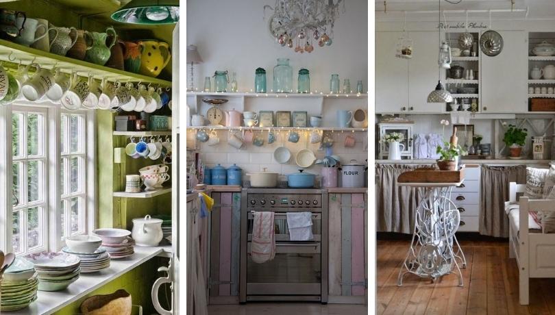 38 Διαχρονικά Shabby Chic σχέδια κουζίνας αφιερωμένα στις γιαγιάδες μας