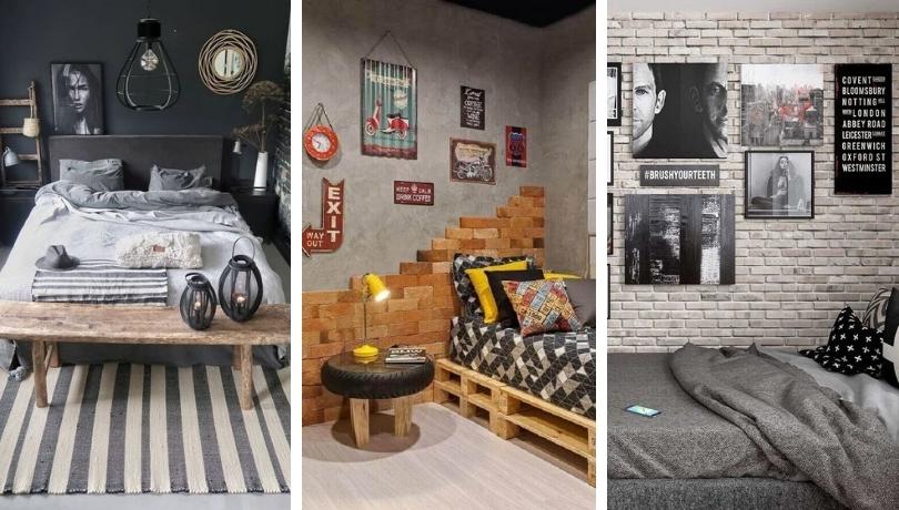 Ανδρικό μονόκλινο δωμάτιο: 40+ πανέμορφες ιδέες για να εμπνευστείτε