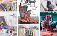 Κουβέρτα πολυθρόνας: 30+ Δημιουργικές και ζεστές ιδέες για τη διακόσμηση σας