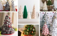 Πως μπορείτε να φτιάξετε Χριστουγεννιάτικα δέντρα από διαφορετικά υλικά