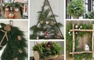 Έμπνευση για Χριστουγεννιάτικες διακοσμήσεις από πευκοβελόνες που θα μοσχομυρίσουν ολόκληρο το σπίτι σας