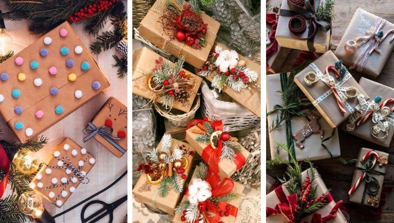 Καταπληκτικές ιδέες για το τύλιγμα των Χριστουγεννιάτικων δώρων: 30+ εμπνευσμένες ιδέες που θα μαγέψουν όλους