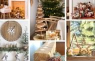 Αυθεντικές ιδέες ξύλινης διακόσμησης για Χριστούγεννα