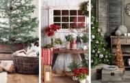 Διακοσμήστε για τα Χριστούγεννα με χωριάτικο στιλ: 42 ιδέες για χριστουγεννιάτικες διακοσμήσεις με ρουστίκ γοητεία