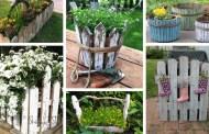 22 Φανταστικές DIY ιδέες για το πώς να χρησιμοποιήσετε τα περισσεύματα ενός παλιού ξύλινου φράχτη στην αυλή και τον κήπο σας