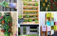 20  DIY ιδέες & έργα κάθετου κήπου λαχανικών που θα σας εντυπωσιάσουν