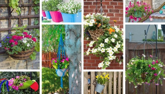 54 Έξυπνοι τρόποι για να κρεμάσετε τα φυτά σας - Ιδέες κηπουρικής για μικρούς χώρους