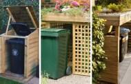 20 Εξαιρετικές ιδέες για να ομορφύνετε το περιβάλλον γύρω από τους κάδους σκουπιδιών στους εξωτερικούς σας χώρους