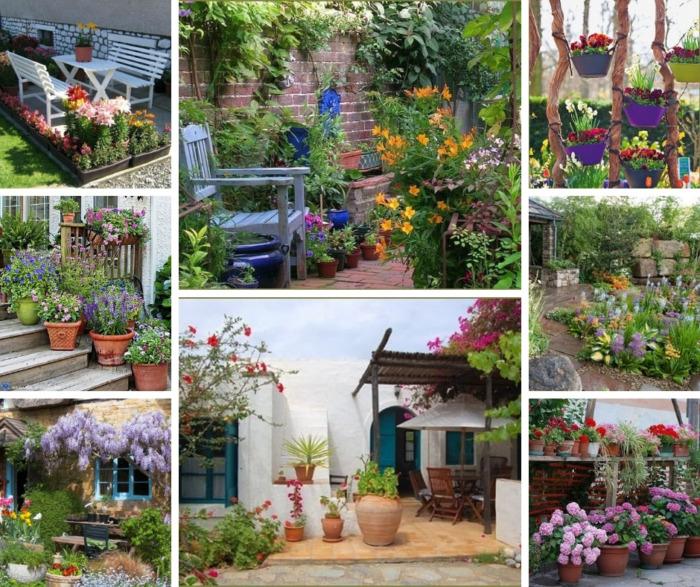 43 Ιδέες με όμορφα σχεδιασμένα παρτέρια για μικρές αυλές και κήπους