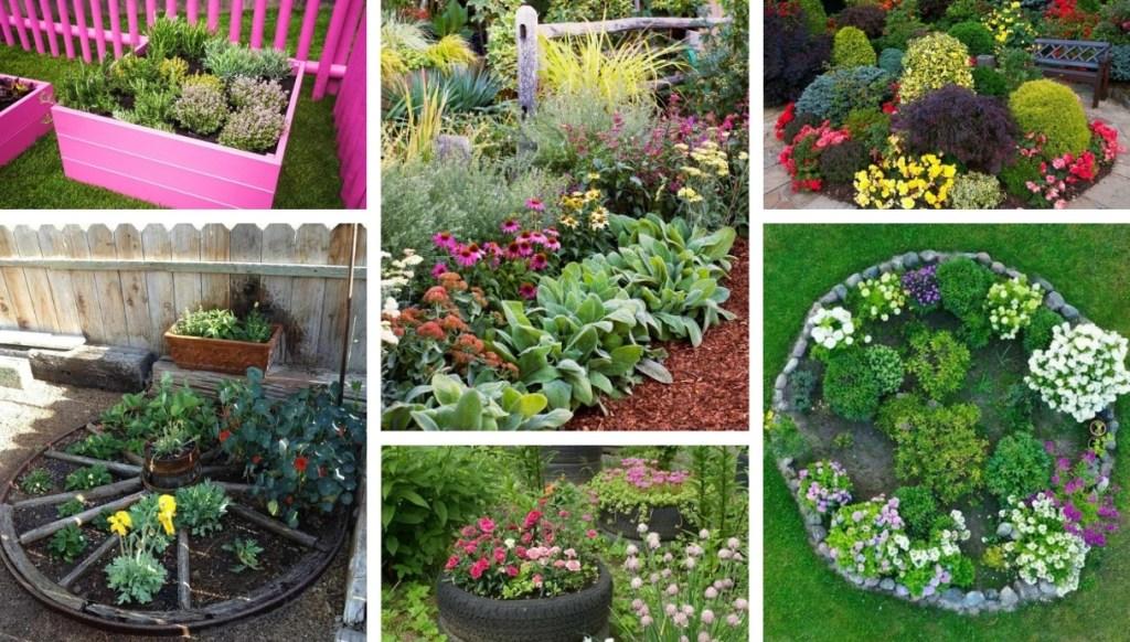 Δημιουργήστε το δικό σας πρωτότυπο παρτέρι στον κήπο σας: τι πρέπει να προσέξετε και 30 ιδέες έμπνευσης