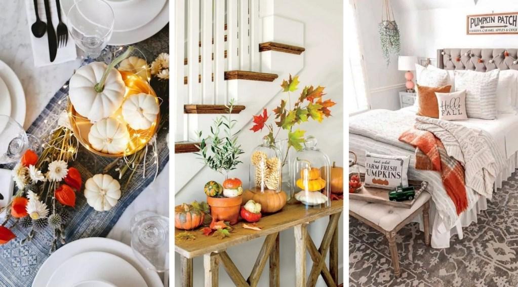 Μοντέρνα Φθινοπωρινή διακόσμηση: Φέρτε τη φθινοπωρινή διάθεση στο σπίτι σας με τις πιο κομψές ιδέες