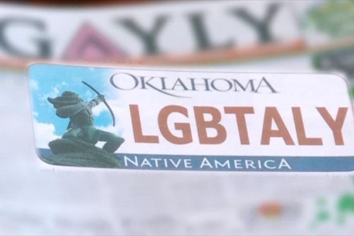 Oklahoma Denies _LGBT_ Plate_-1781666686469911769
