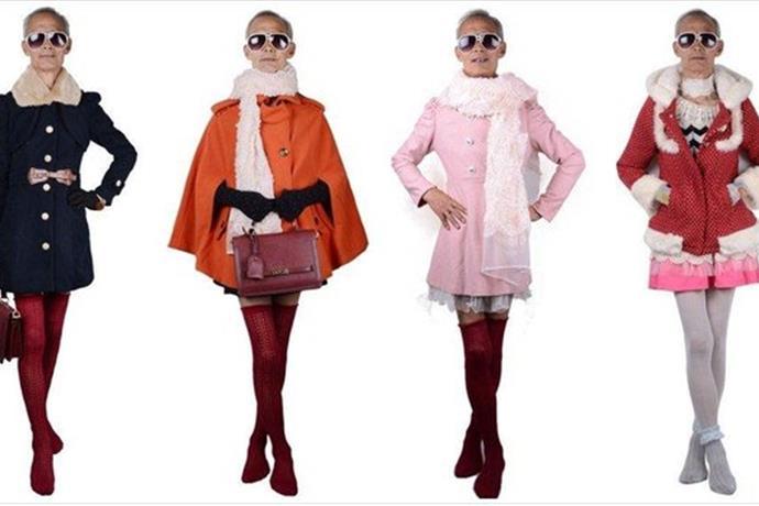 China's Latest Fashion Sensation is 72-Year-Old Granddad_6133473938763894780