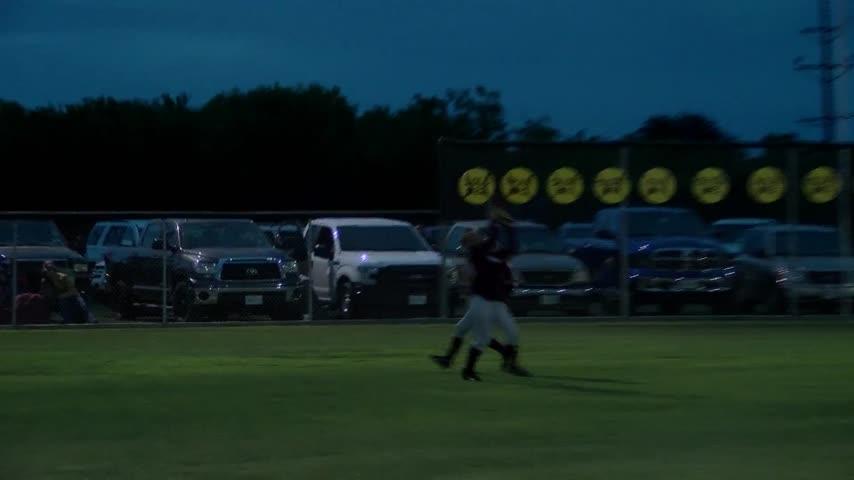 High School Softball - 2A Bi-District: Seymour vs Haskell -