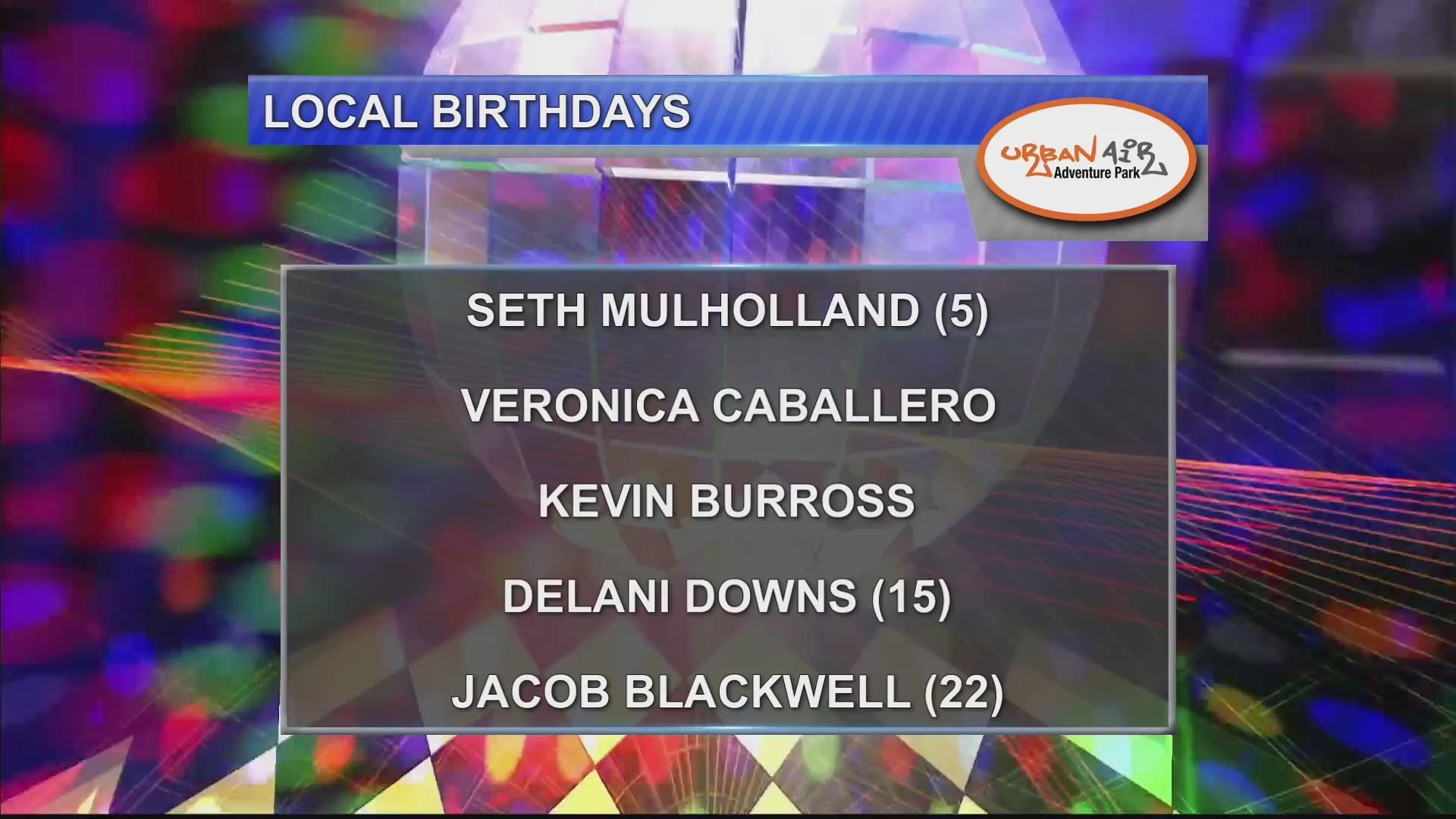 Birthdays & Anniversaries 10/15/18