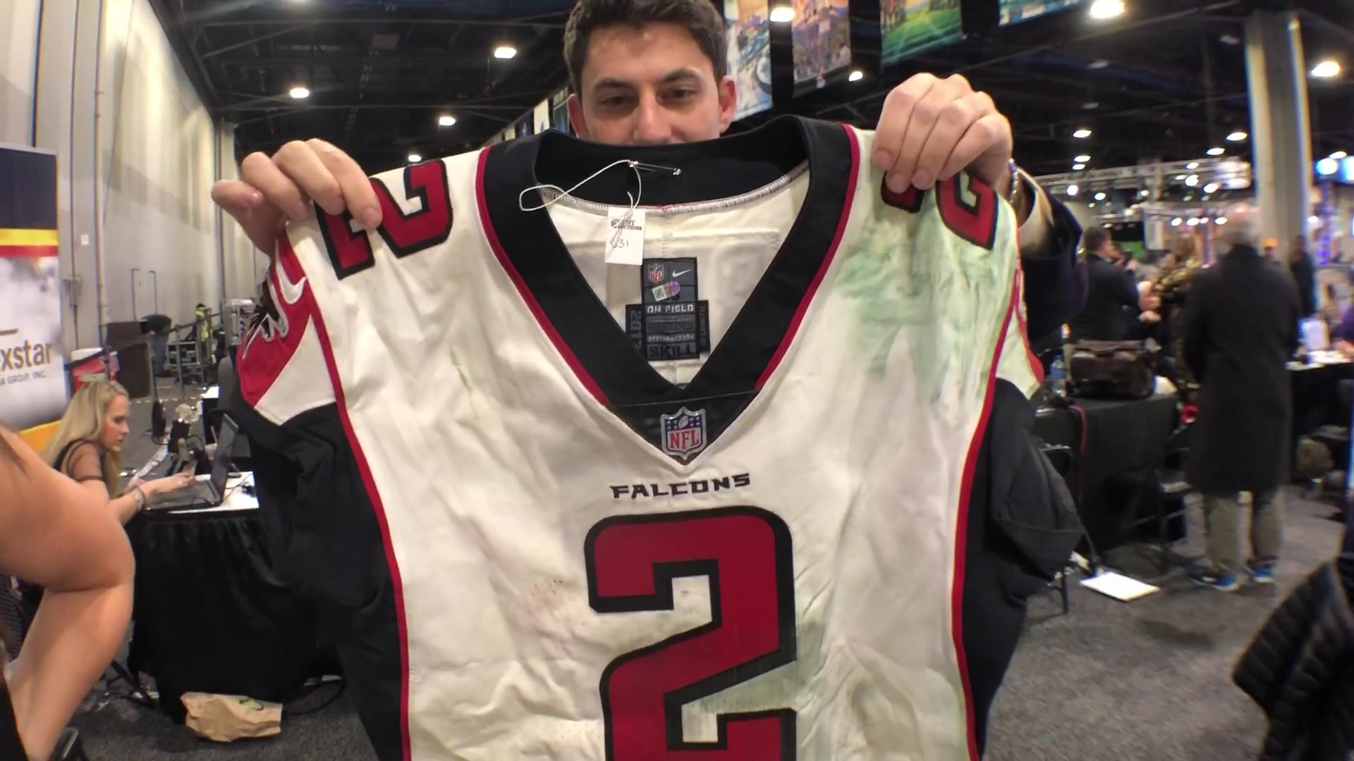 Big Game Memorabilia: Game-worn Matt Ryan jersey, 1967 NFL championship ticket