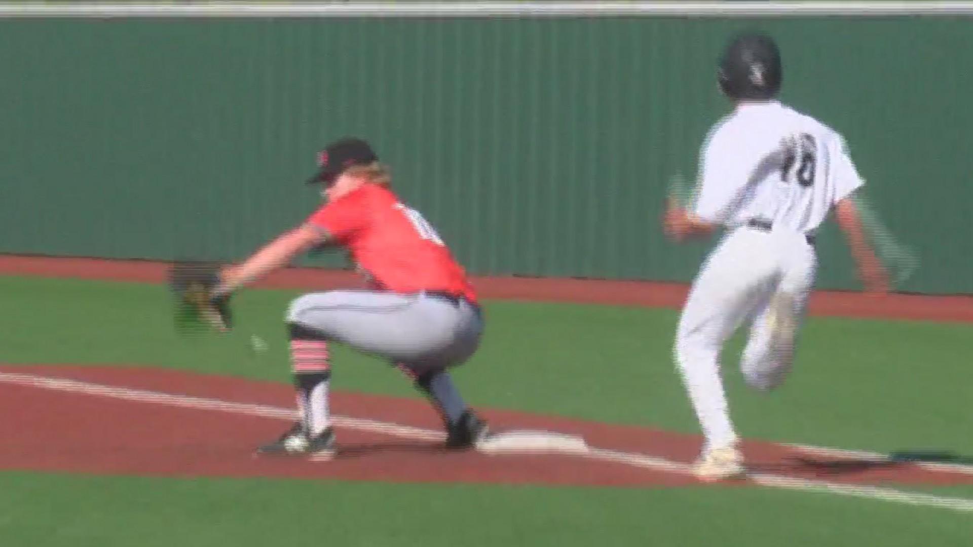 High School Baseball: Aledo at Rider- April 25, 2019