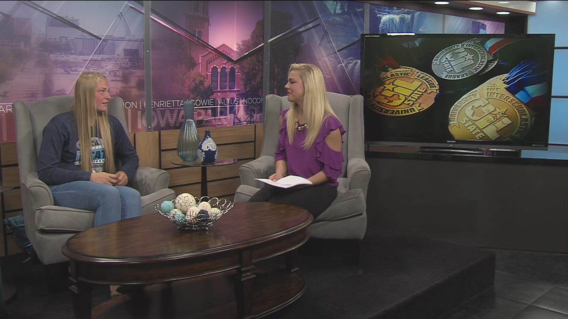 Sports Sunday Interview: Baylee Thompson- May 12, 2019