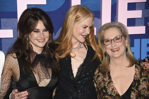 Shailene Woodley, Nicole Kidman, Meryl Streep