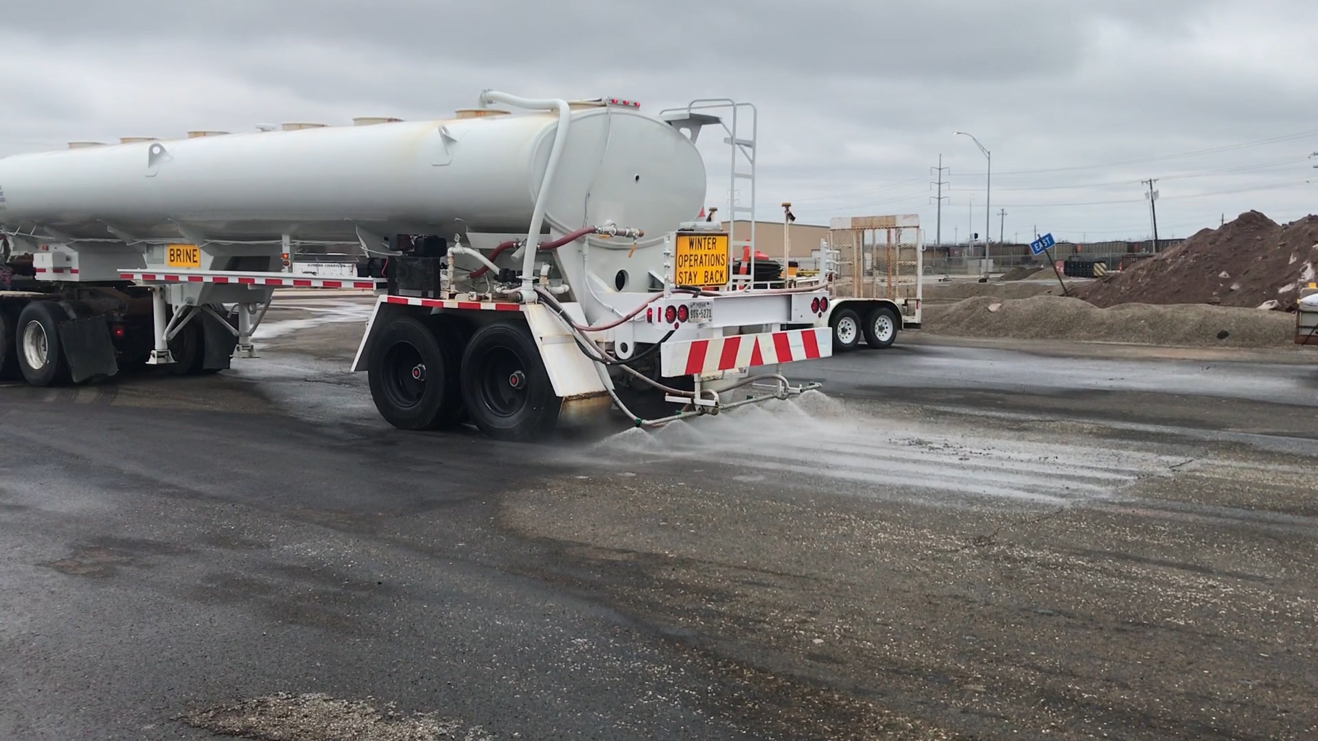 Texas Department of Transportation has been prepping our roadways for Wednesday's big snow day.