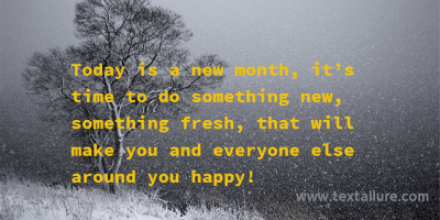 new month message 5