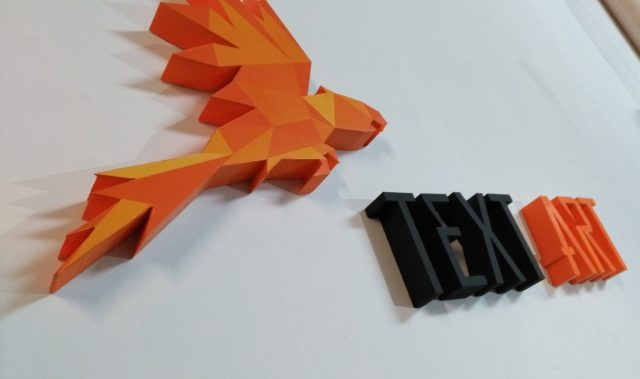 System 3D - litery ze styroduru