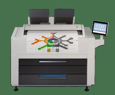KIP 860 wydruki wielkoformatowe