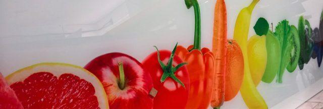 Nadruk warzywno - owocowy