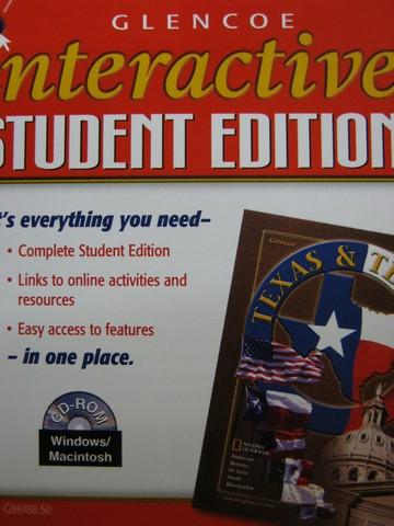 Glencoe Texas Amp Texans Interactive Student Edition Tx Cd