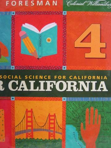 California Science 4 Te Unit C Ca Te Spiral By Amaral