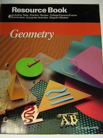 Geometry Resource Book P By Jurgensen Brown Jurgensen