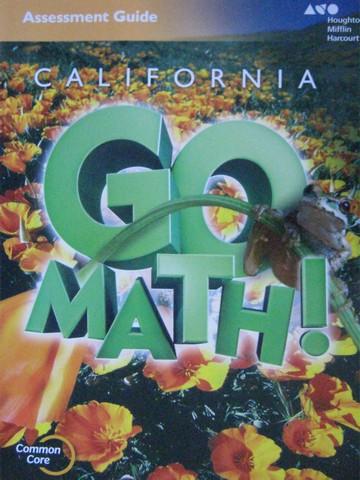 California Go Math 5 Common Core Assessment Guide Ca P