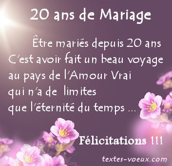 Bon Anniversaire De Mariage Mon Mari Kapokto