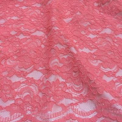Dantela roz-coral pastel