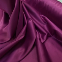 Satin gros elastic mov-fuchsia inchis