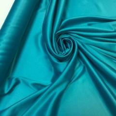 Satin gros elastic verde-turcoaz