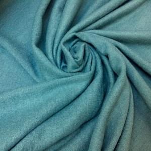 Stofa boucle bleu-turcoaz